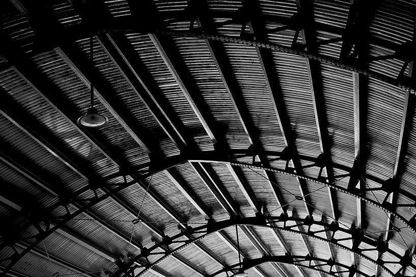 Stationsplafond van Bart Rondeel
