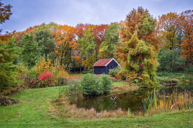 Herfst Landschap 1 van Eriks Photoshop by Erik Heuver