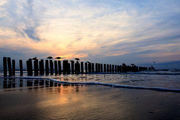 Strand Knokke van Peter Deschepper