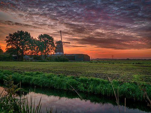 De molen van Westbroek van