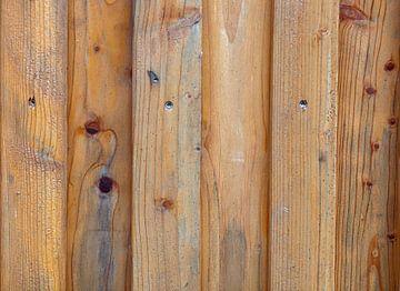 houten wand van BVpix