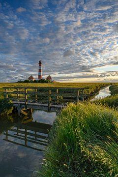 Leuchtturm Westerheversand von Robin Oelschlegel