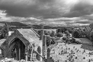 Melrose Abbey en omgeving von Floris van Woudenberg