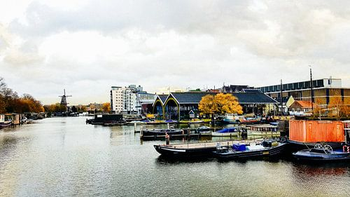 Amsterdam Nieuwevaart (2018) van Tom Loman
