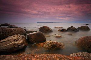Steine am Ufer der Ostsee