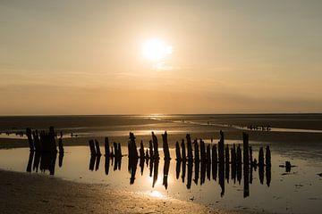 Zeewering in Moddergat van Gerry van Roosmalen