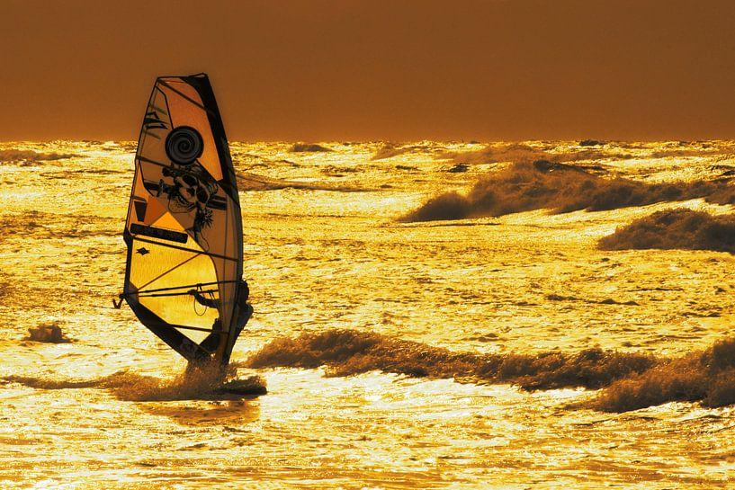 Goldener Surfer von Stephan Zaun