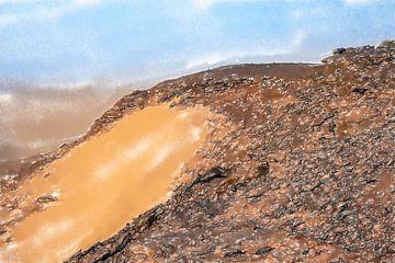 Auf dem heiligen Berg Jebel Barkal von Frank Heinz
