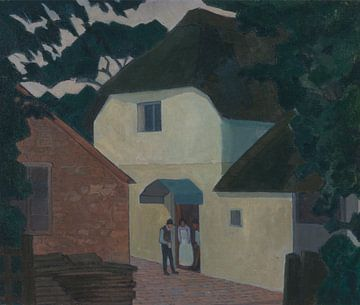 Robert Bevan~Der Anrufer in der Mühle