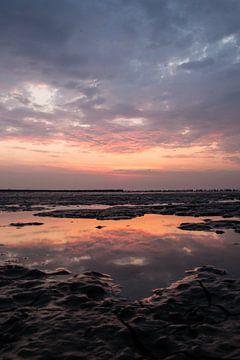 Mudflat Reflections von Anna Groenia