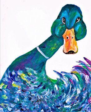 Aagje 2 die neugierige Ente. von Ineke de Rijk