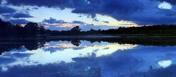 Panorama na zonsondergang von Patrick Brouwers