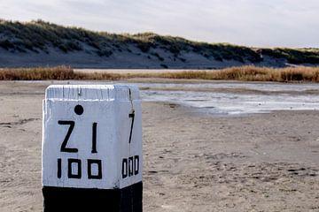 Ruhiges Leben am Strand von Linda van der Steen