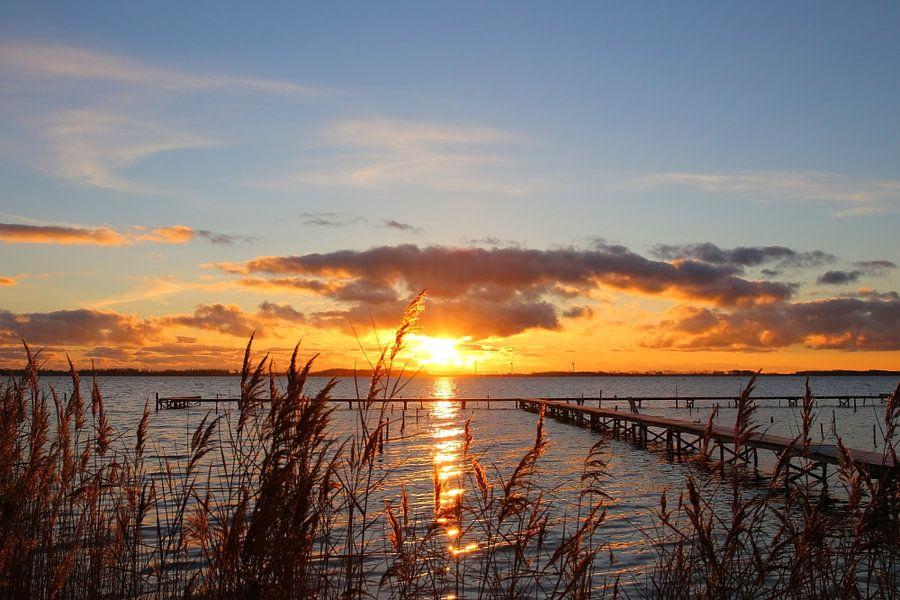 Wintermorgen van Ostsee Bilder