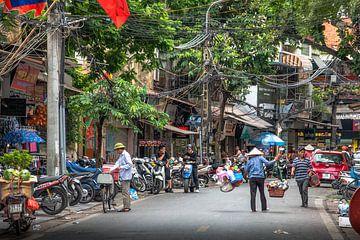 Stadtleben Vietnam von Jelmer Laernoes