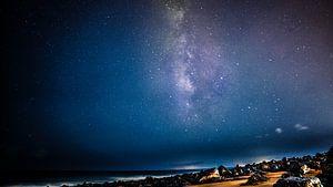 Lanzarote milkeyway van Michel Jansen