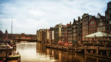 Amsterdam, stadsgezicht van Karin Stuurman