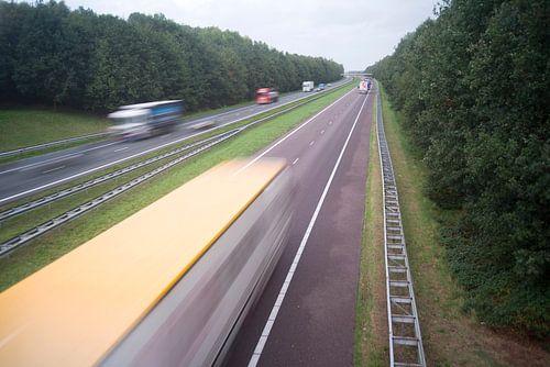A28 Viaduct Hooghalen 1 van John Van der Kaap