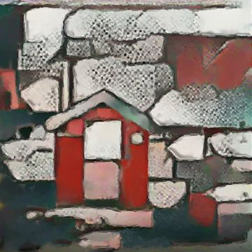 Abstract Inspiratie LXII van Maurice Dawson