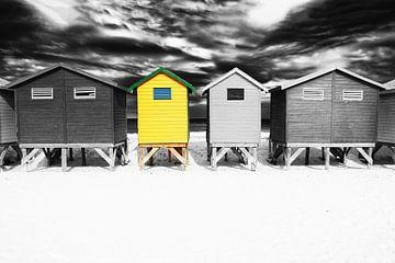 Muizenberg Strandhäuser von Heleen van de Ven