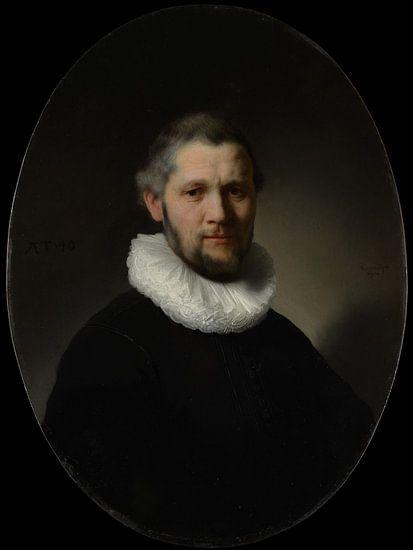 Portret van een Man, Rembrandt van Meesterlijcke Meesters