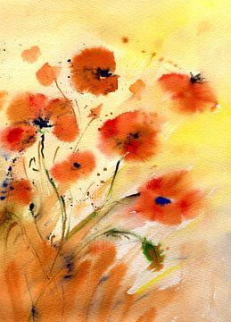 Melody der Mohnblumen von Claudia Gründler