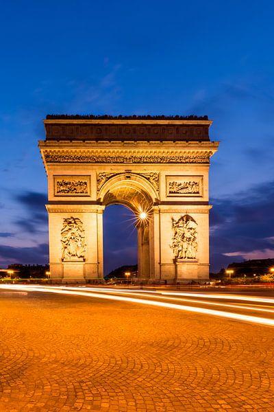 PARIJS arch of triumph  van Melanie Viola
