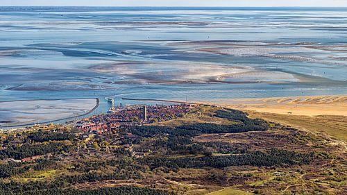 West-Terschelling en Waddenzee van