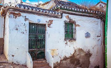baufälliges Haus in Granada von Hanneke Bantje