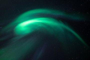 Nordlichter direkt über Ihnen von Edwin Mooijaart