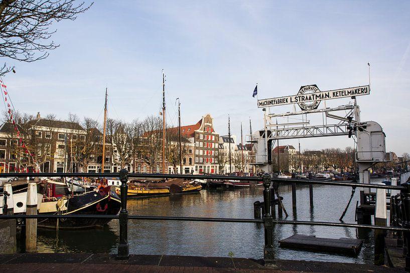Schroevendok Straatman Wolwevershaven Dordrecht van Carel van der Lippe