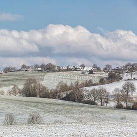 De Huls bij Simpelveld tijdens de winter van 2018 sur John Kreukniet