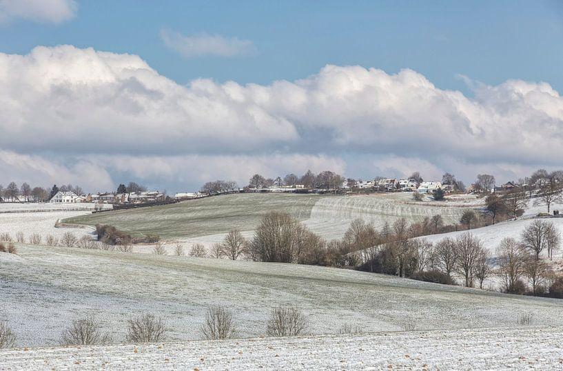 De Huls bij Simpelveld tijdens de winter van 2018 van John Kreukniet
