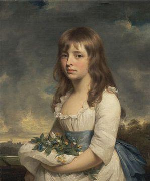 William Beach - Porträt eines Mädchens