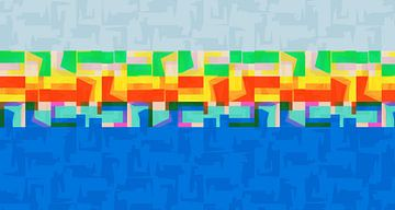 zomer abstract van Marion Tenbergen