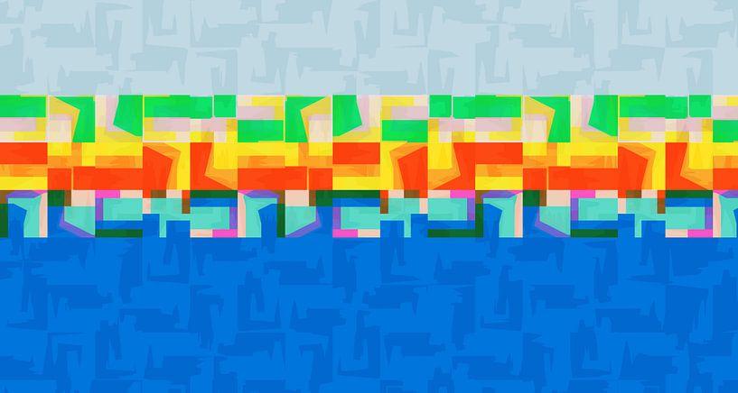 Sommerzeit,abstrakt von Marion Tenbergen
