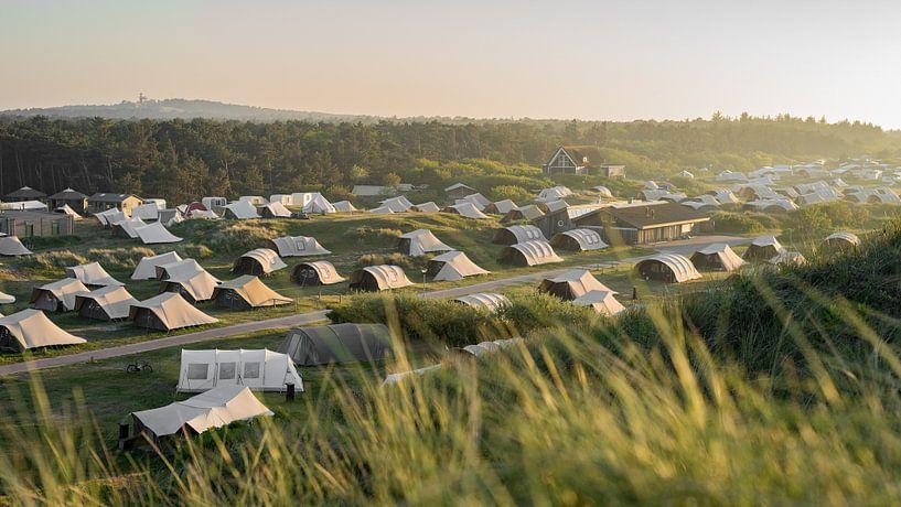 Camping Stortemelk van Tomas Grootveld