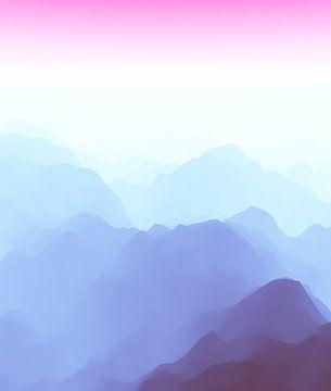 Prachtige bergen 11 van Angel Estevez