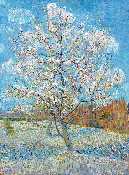 Der rosa Pfirsichbaum - Vincent van Gogh von 1000 Schilderijen