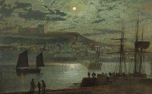 Whitby Harbor, John Atkinson Grimshaw
