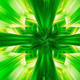 Green Twirl-Creation van Ursula Di Chito