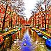 Colorful Amsterdam #107 van Theo van der Genugten thumbnail