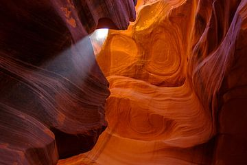Antelope Canyon von Richard van der Woude