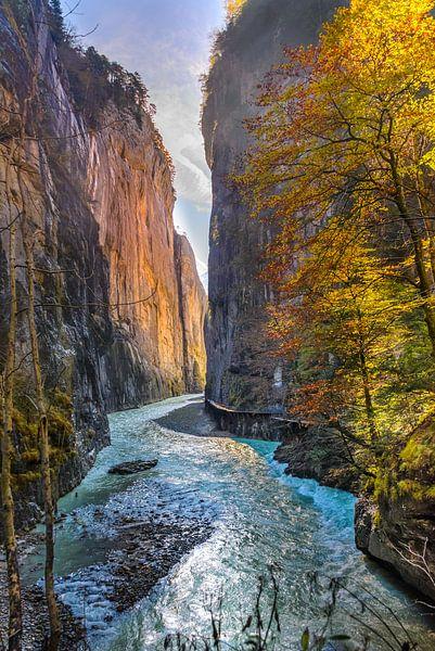 Ochtendlicht op de Alpen van Bas Wolfs