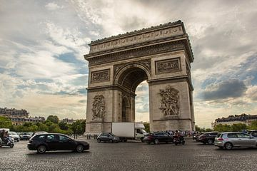Arc de Triopmhe, Parijs von Melvin Erné