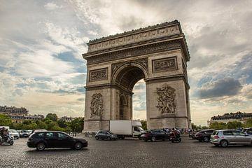 Arc de Triopmhe, Parijs van Melvin Erné