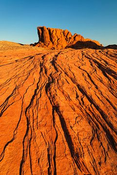 White Domes, Valley of Fire State Park, Nevada, USA von Markus Lange