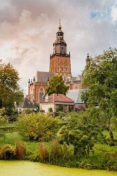 Sint Walburgiskerk in Zutphen van Melissa Peltenburg