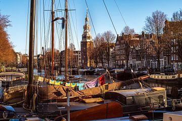 Amsterdam Montelbaanstoren van Tom Elst