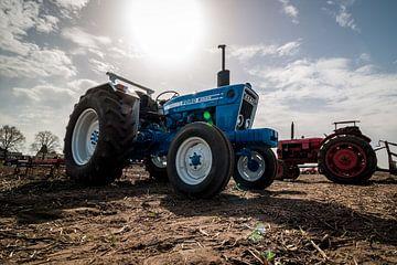Ford 4600 tractor van Jaap de Wit